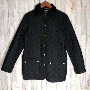 Ralph Lauren Corduroy Collar Quilted Jacket